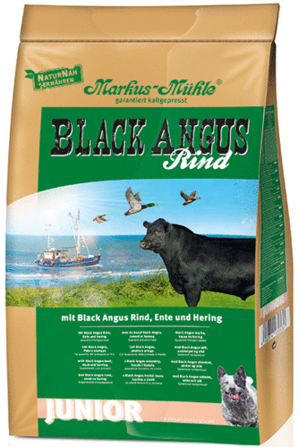 """Black Angus Junior"" Trockenfutter, 1,5 kg"